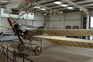 Gnome Omega - Gnome Omega-powered airworthy Blackburn Monoplane of the Shuttleworth Collection