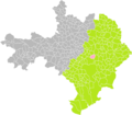 Blauzac (Gard) dans son Arrondissement.png