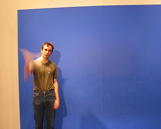 Special effect - Bluescreens are commonly used in chroma key special effects.