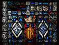 Bocan St. Mary's Church Nave South Wall Window 02 Ergo sum resurrectio et vita Bottom Panel 2014 09 09.jpg