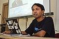 Bodhisattwa Mandal Talking About Bassel Khartabil - West Bengal Wikimedians Strategy Meetup - Kolkata 2017-08-06 1586.JPG