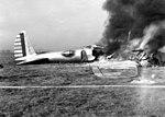 Boeing Model 299 crash fire (050406-F-1234P-029).jpg