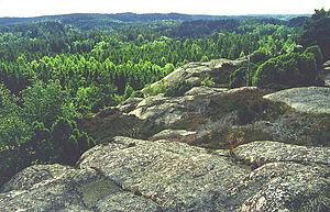 Landscape of Bohuslän, Sweden