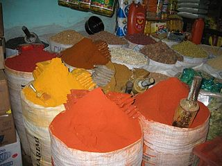 Chili powder dried, pulverized fruit of one or more varieties of chili pepper