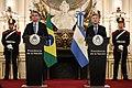 Bolsonaro with Argentine President Mauricio Macri at the Casa Rosada.jpg