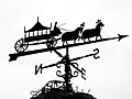 Bolton, The weather vane on the old hearse house - geograph.org.uk - 1012037.jpg