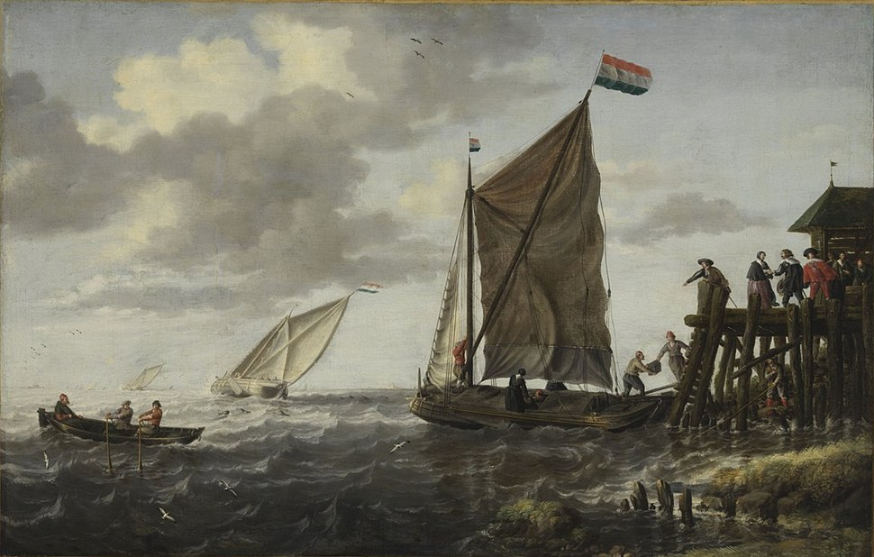 Bonaventura Peeters (I) - Arrival of the Boat