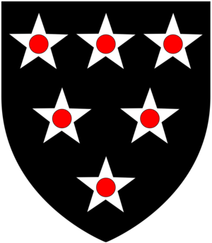 William Bonville, 6th Baron Harington - Image: Bonville Arms
