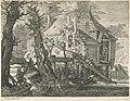 Boshut op palen bij een rivier Rijksmuseum Amsterdam RP-P-OB-5187.jpg