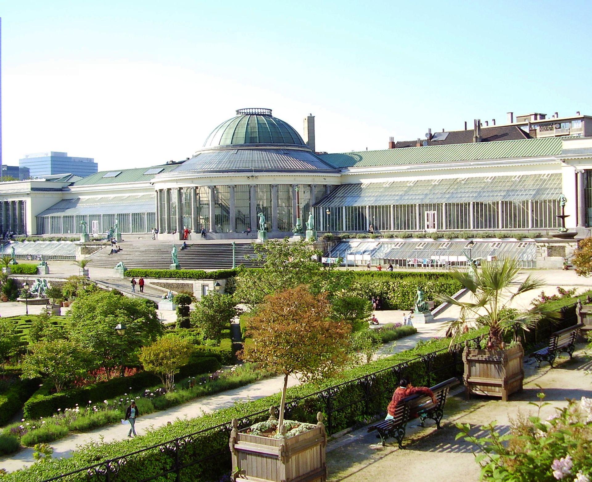 Jardin botanique de bruxelles wikip dia for Boulevard du jardin botanique 50 1000 bruxelles
