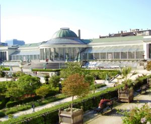 Tilman-François Suys - Great conservatory of the Jardin Botanique in Brussels
