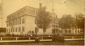 Bourbonnais, Illinois - Notre-Dame Convent and Virgin Mary Elementary School 1883