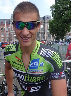 Joeri Stallaert Belgian cyclist