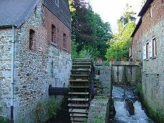 Un mulino ad acqua in Belgio
