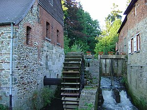 Cistercian architecture - The Cistercians made extensive use of waterwheel technology.