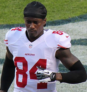 Brandon Lloyd - Lloyd with the San Francisco 49ers in 2014