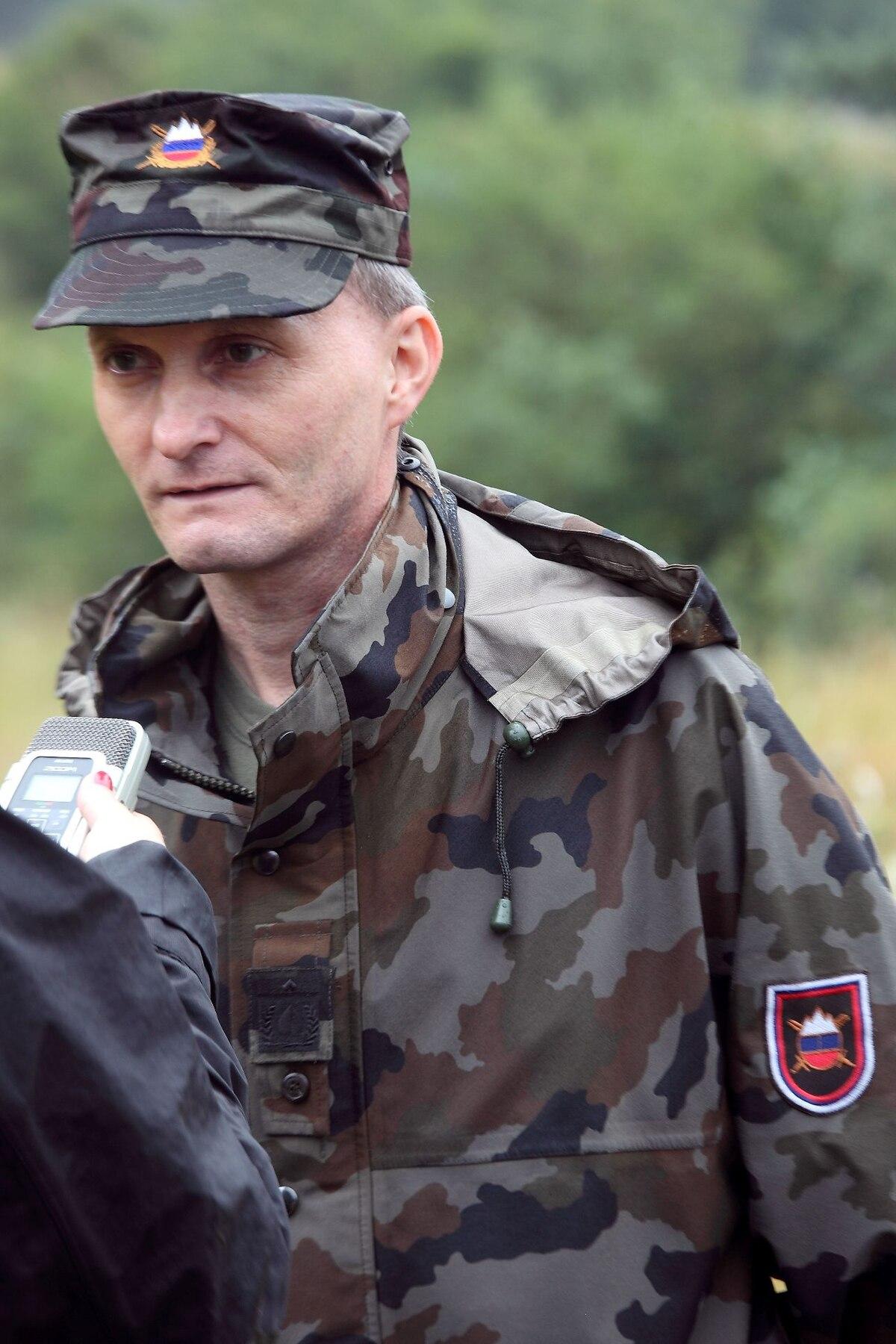 brigadir  slovenska vojska