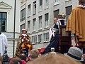Bratislavské korunovačné slávnosti 2010 - Novokorunovaný kráľ Ferdinand IV. (herec E. Zvarík) (2).jpg