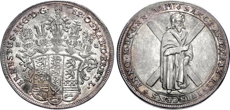 Braunschweig-Lüneburg, Taler 1688, Clausthal, CNG