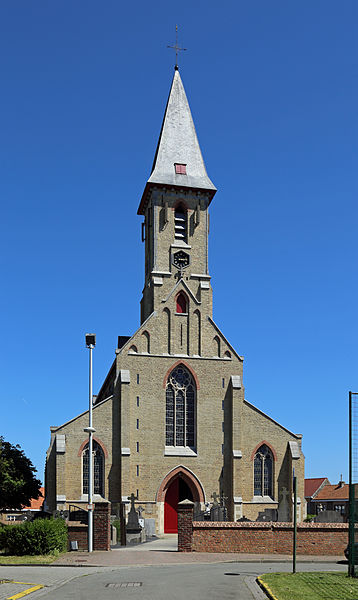 Bredene (Belgium): St Richarius church
