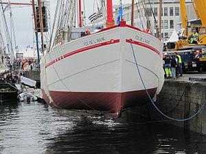 Brest2012 Fée de l'Aulne-mise à l'eau (6).JPG
