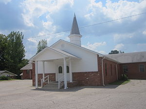 Readhimer, Louisiana - Briarwood Baptist Church in Readhimer