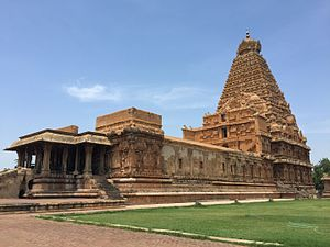 Raja Raja Chola I - Brihadisvara  Temple built by Raja Raja I, a UNESCO World Heritage Site