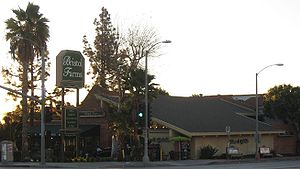 Bristol Farms - Bristol Farms store on Sunset Boulevard in West Hollywood, California