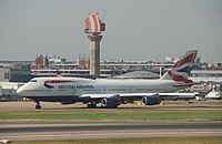 G-BNLP - B744 - British Airways