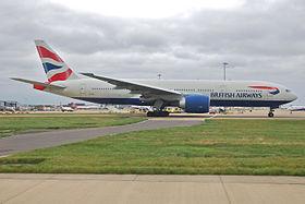L'appareil accidenté, ici photographié en 2009 à l'aéroport de Londres-Gatwick.