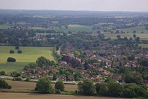 Brockham - Image: Brockham geograph.org.uk 847331