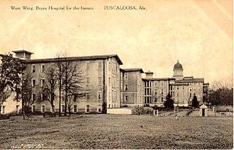 Bryce Hospital - Image: Brycehospital
