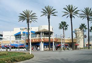 Bubba Gump Shrimp Company - The Bubba Gump Shrimp Co. restaurant in Long Beach, California.