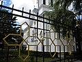 Bucuresti, Romania, Str. Constantin F. Robescu nr. 18, Piata Corneliu Coposu, sect. 3 (Biserica Sfantul Mina - Vergu) (detaliu 3).JPG