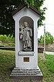 Budapest-Pesthidegkút, templomkerti Nepomuki Szent János-szobor 2021 02.jpg