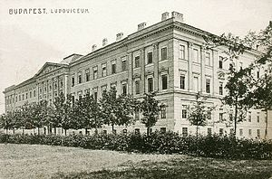 Ludovica Academy - Main building of Ludovica Military Academy (1913)