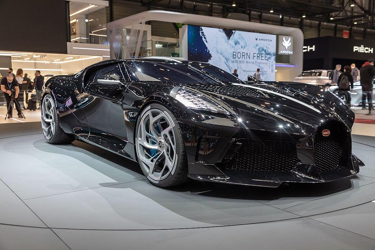 Bugatti la voiture noire wikipedia - Image voiture cars ...
