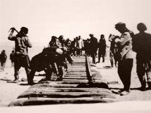 Buiding the Hejaz Railway