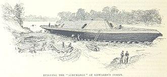 CSS Albemarle - Building the Albemarle