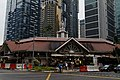 Built in 1894 as a market, with cast-iron supports. it's a hawker centre now (Singapore version of a food court) (8235341079).jpg
