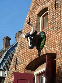 Bull's head 2, Utrecht, 120930.JPG