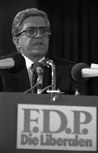Burkhard Hirsch - Hirsch at a FDP convention in 1981.
