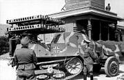 Bundesarchiv Bild 101I-300-1863-30, Riva-Bella, Waffenvorführung Panzerwerfer