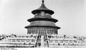 Bundesarchiv Bild 137-009044, Peking, Himmelstempel