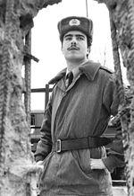 Soldat devant le mur de Berlin, Deutsches Bundesarchiv