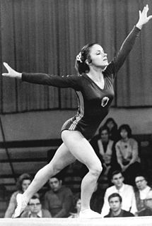 Erika Zuchold East German gymnast