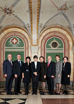 Bundesrat der Schweiz 2011-H25P