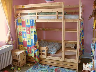Bunk bed - A bunk bed
