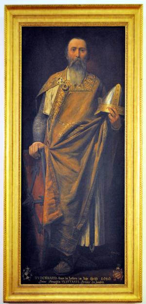 Burkhard I, Count of Zollern - Painting of Burkhard I from Peleș Castle