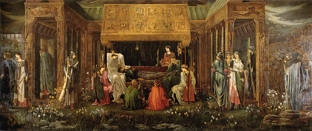 Burne-Jones Last Sleep of Arthur in Avalon v2.jpg